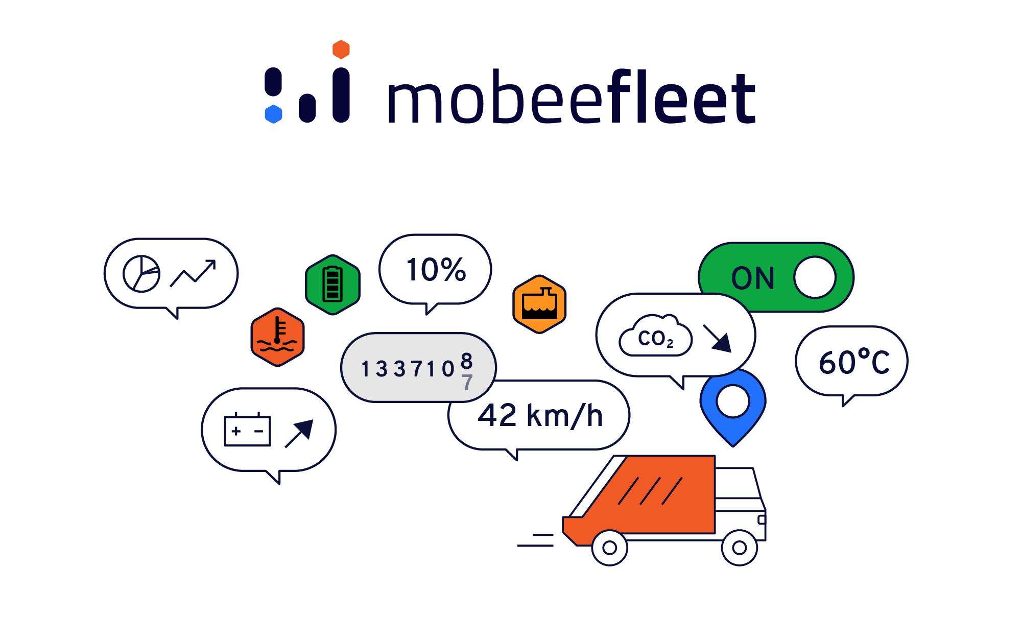 Vos véhicules ont beaucoup à vous dire. Mobeefleet vous aide à les comprendre !
