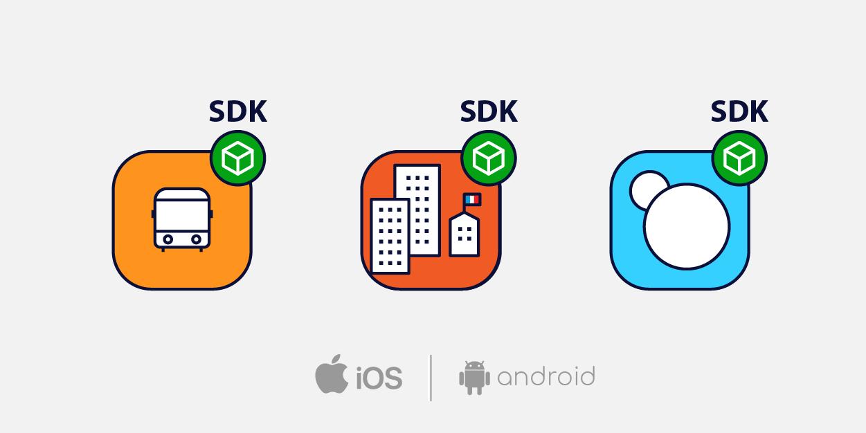 Les SDK Mobeepass pour Android et iOS permettent d'enrichir des applications avec la billettique mobile.