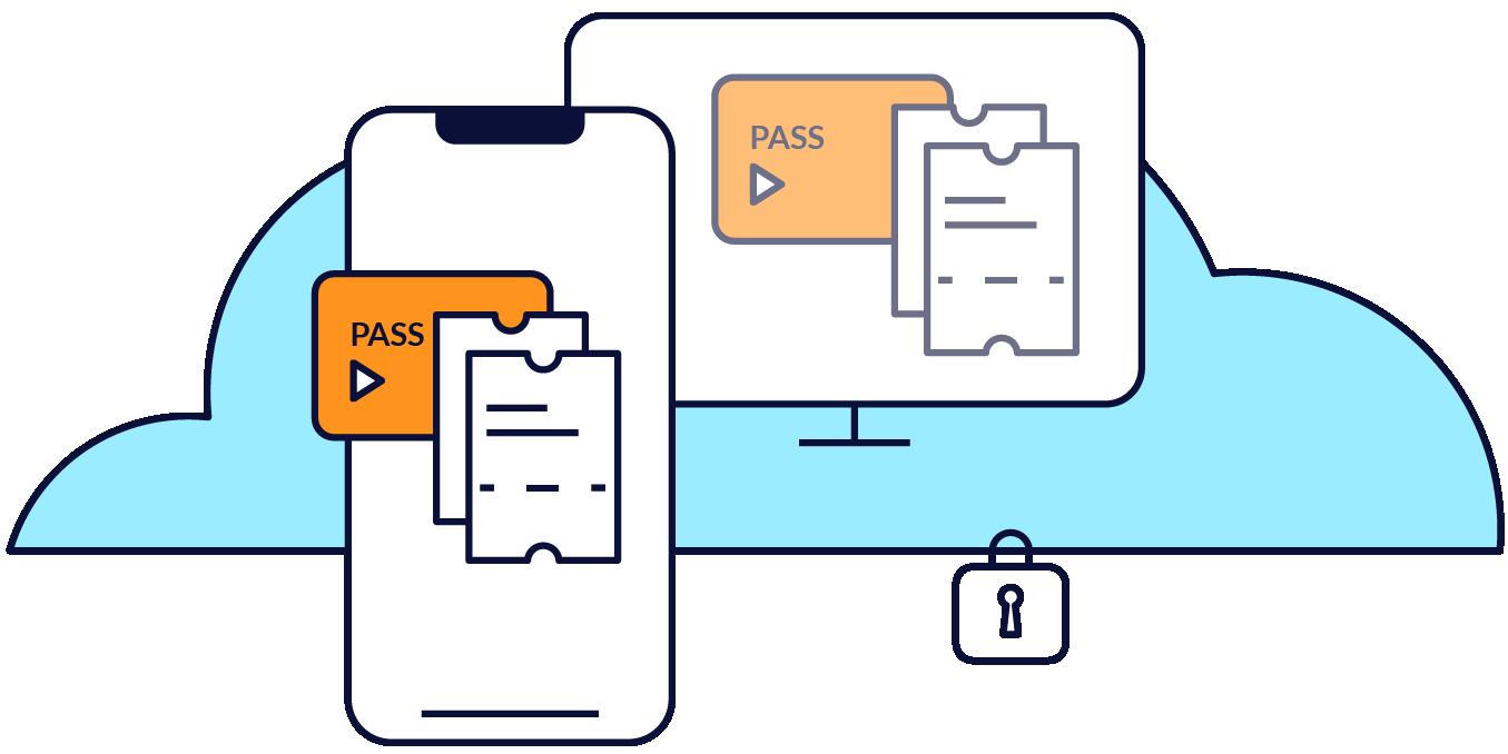Mobeepass combine les avantages du media centrique et de l'account based