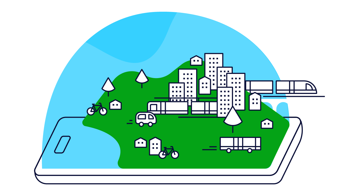 Mobeepass supports your Mobility as a Service (MaaS) projects
